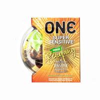 ONE Kondom Rendang (3 Pcs)
