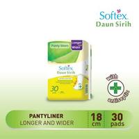 Pantyliner Softex Daun Sirih Longer Wider 30s