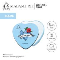 Madame Gie Precious Heart Highlighter 01 - Sunlit