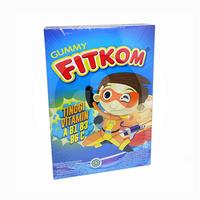 Fitkom Gummy Biru 60 g (1 Box @ 5 Sachet)