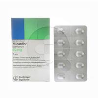 Micardis Tablet 40 mg (3 Strip @ 10 Tablet)