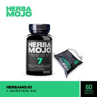 Herbamojo Kapsul (1 Botol @ 60 Kapsul) + Drawstring Bag