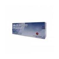 Alofar Kaplet 100 mg (10 Strip @ 10 Kaplet)