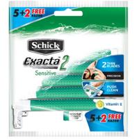 Schick Exacta 2 Sensitive 5 + 2 (7 Razor)