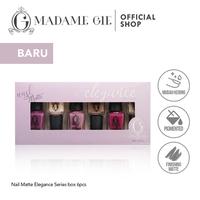 Madame Gie Nail Matte Elegance 1 set (6 Pcs)