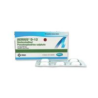 Aerius D-12 Tablet (1 Strip @ 5 Tablet)