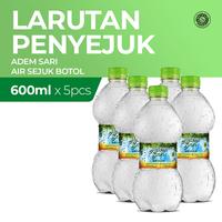 Air Sejuk Adem Sari Botol 5 x 600 mL