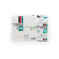 Azithromycin Hexpharm Kaplet 500 mg (1 Kaplet)