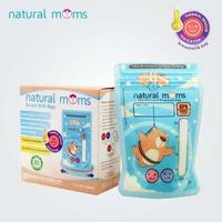 Natural Moms Kantong ASI 100 ml - Thermal Sensor - Flying Bear