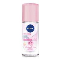 NIVEA Hokkaido Rose Whitening Deep Serum Roll On Deodorant 40 mL