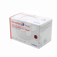 Glucophage XR Tablet 750 mg (8 Strip @ 15 Tablet)