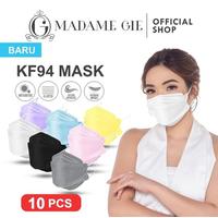 Madame Gie Protect You KF94 Mask Isi 10 Pcs - Kuning