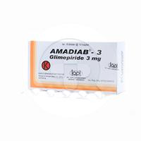 Amadiab Kaplet 3 mg (1 Strip @ 10 Kaplet)