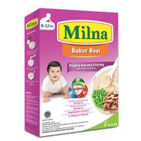 Milna Bubur Reguler 8 Bulan Daging Kacang Polong 120 g