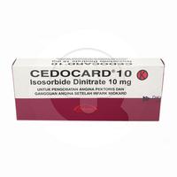 Cedocard Tablet 10 mg (1 Strip @ 10 Tablet)