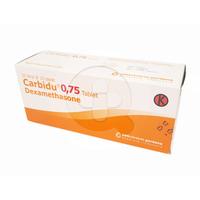 Carbidu Tablet 0,75 mg (1 Strip @ 10 Tablet)