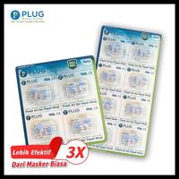 PLUG Nasal Filter Refill 1 Pack (4 & 8 Pcs)