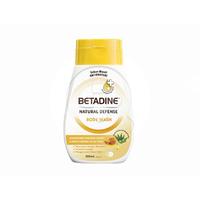 BETADINE Body Wash Antibacterial Manuka Honey Bottle 200 mL