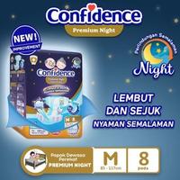 Confidence Popok Dewasa Premium Night M 8