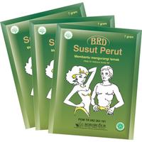 Borobudur Herbal BRD Susut Perut Seduhan 7 g (10 Sachet)