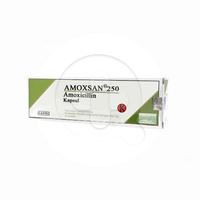 Amoxsan Kapsul 250 mg (1 Strip @ 10 Kapsul)