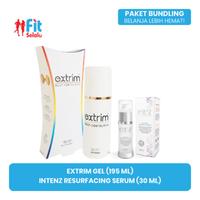 Paket Kecantikan Fit Selalu (Extrim Gel 195 mL & Intenz Resurfacing Serum 30 mL)