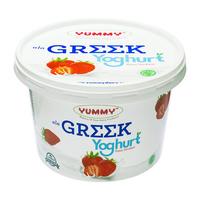 Yummy Yoghurt Greek Stawberry 2 x 500 g