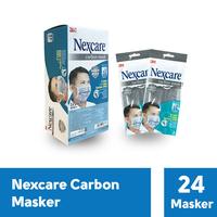 3M Nexcare Extra Carbon Mask 4 Ply (1 Box @ 24 Pcs)