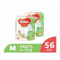 Huggies Gold Pants Popok Celana M 56 (2 Pack)