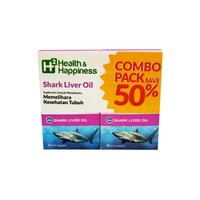H2 Shark Liver Oil Combo Pack Hemat