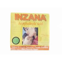 Inzana Tablet Kunyah 80 mg (25 Strip @ 4 Tablet)