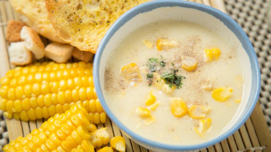 resep sup krim jagung mudah dan lezat