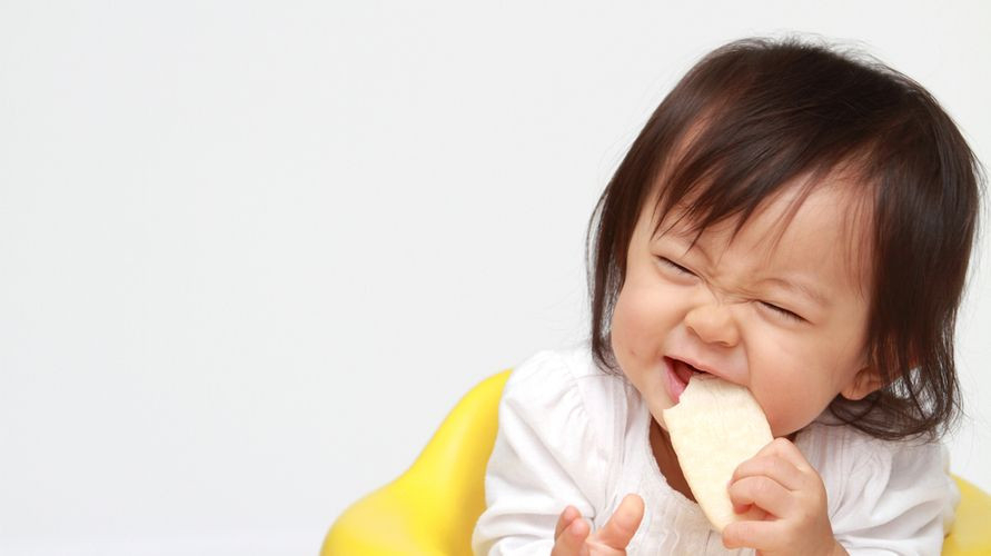 Rekomendasi rice crackers untuk bayi salah satunya milna, promina, dan yummy bites