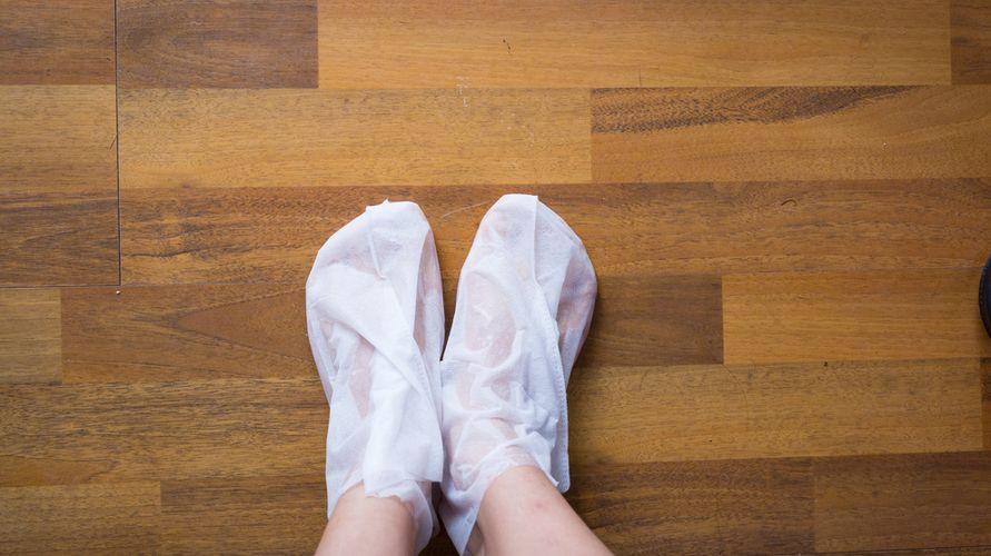 Masker kaki dapat membantu melembapkan dan menghaluskan kulit kaki
