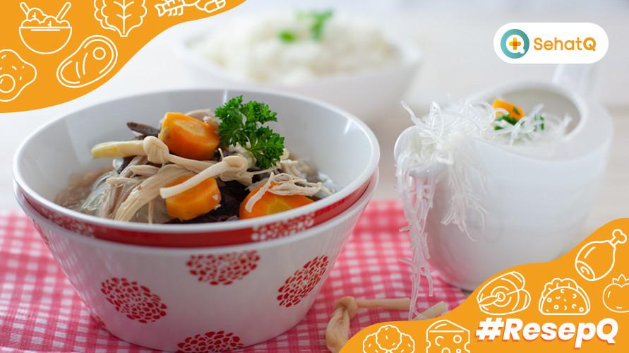Resep Sup Kimlo, Biasa Disajikan di Kondangan, Kini Nikmati di Rumah