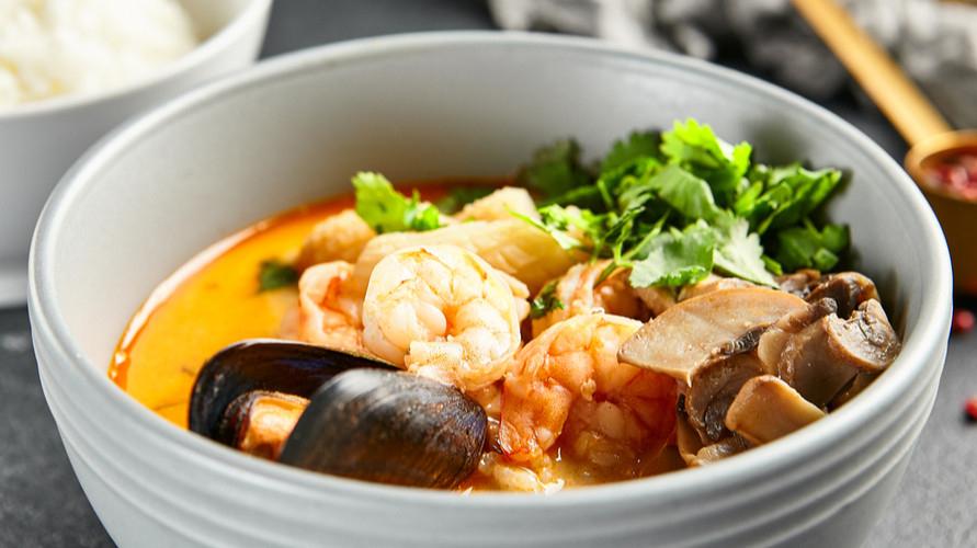 Resep tomyam Seafood khas Thailand yang segar bisa kamu buat sendiri di rumah