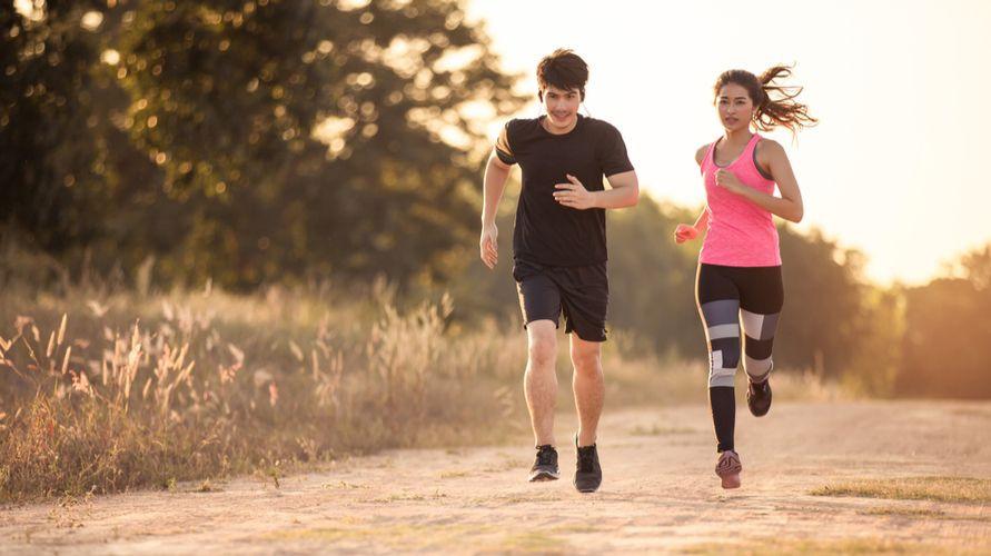 Tempat olahraga selain gym antara lain taman, pantai dan rumah