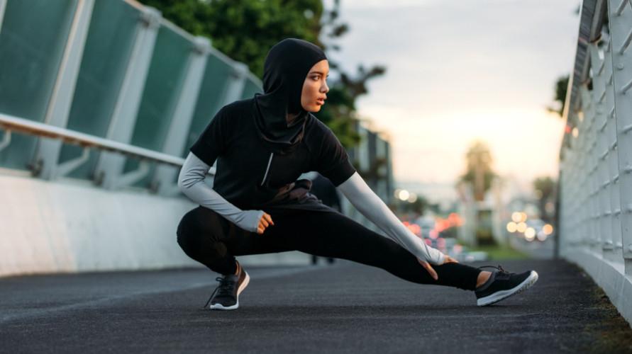 Hijab sport berkualitas tinggi