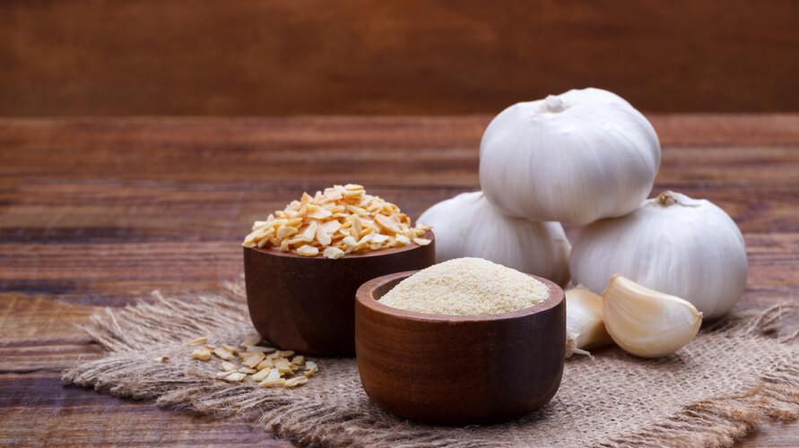Garlic powder bumbu masakan