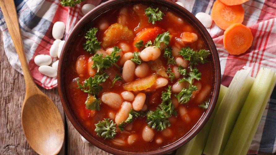 Resep sup kacang merah yang lezat dan sehat