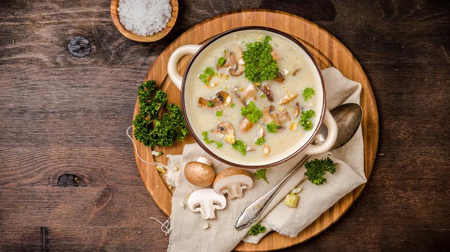 Variasi Resep Sup Jamur, Dari Sup Bening Hingga Dessert Manis
