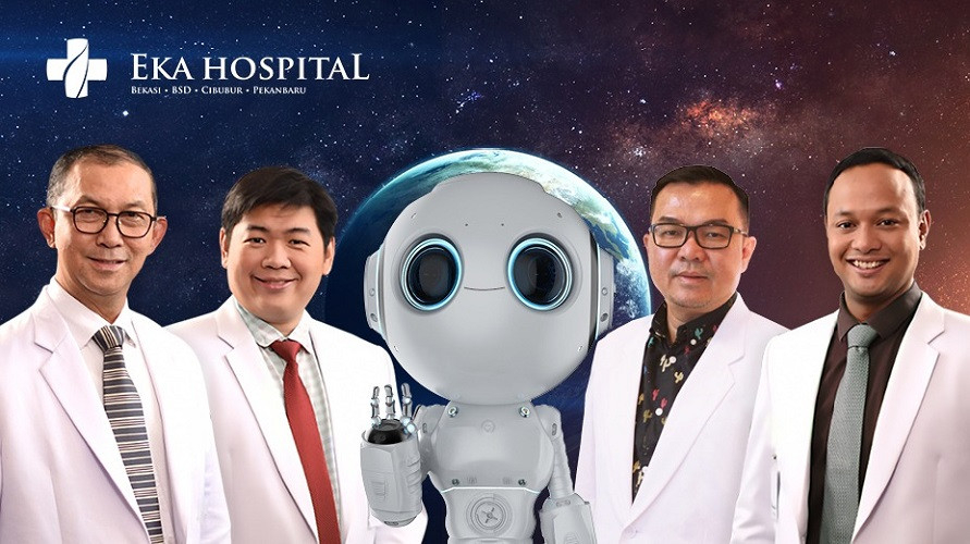 Robot navigasi hadir dalam operasi skoliosis di Eka Hospital