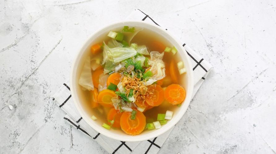 Kreasi resep sayur sop bening yang sehat dan nikmat ada berbagai macam