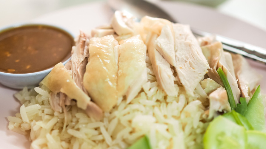 Resep nasi hainan yang lezat