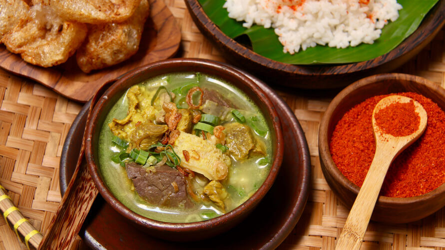 Resep empal gentong Cirebon bisa dibuat dengan atau tanpa santan