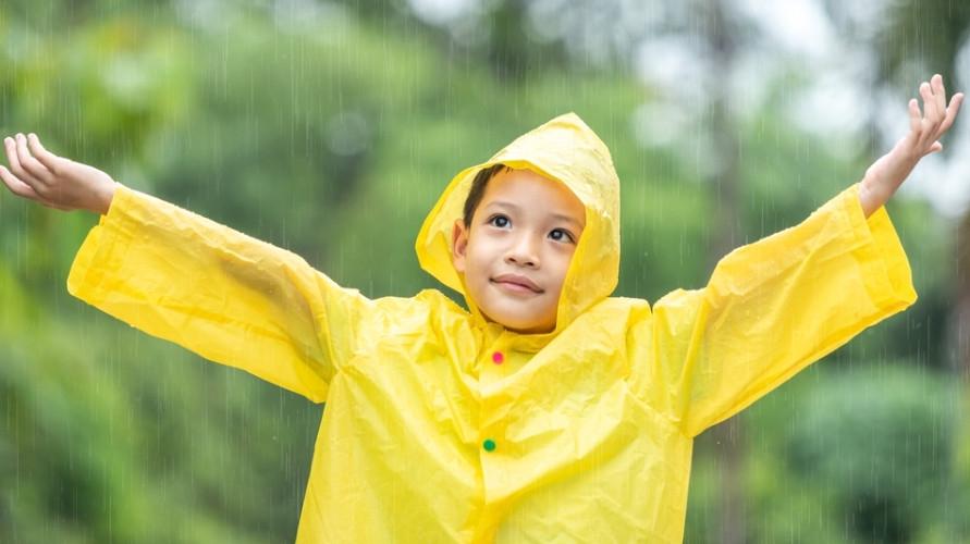 Jas hujan anak terbaik
