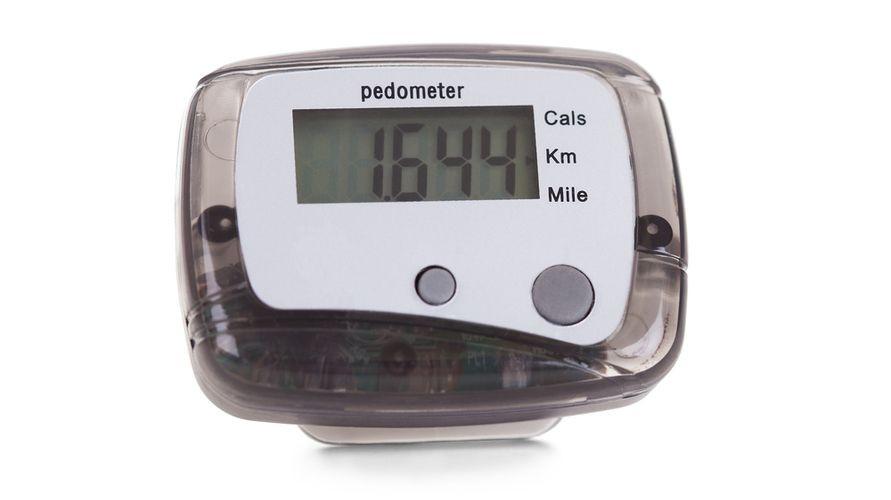 Pedometer adalah alat penghitung langkah kaki