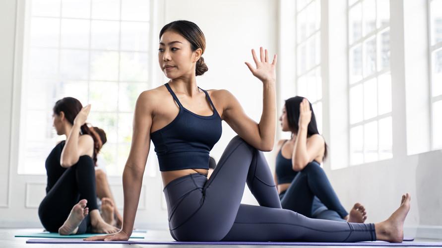 Kelas yoga di Jakarta