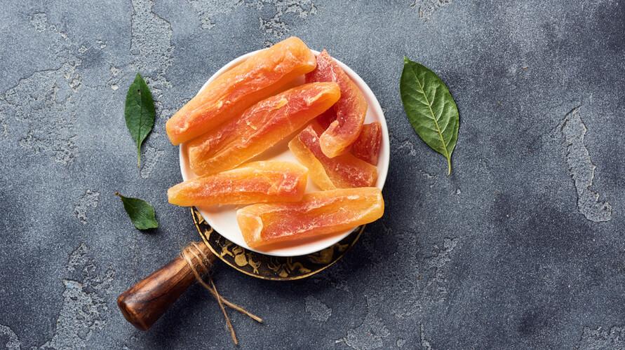 Resep manisan pepaya bisa dibuat kering dan basah