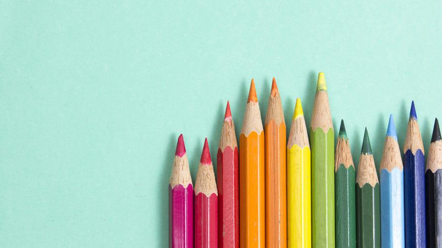 Pensil warna yang bagus dapat membuat gambar menjadi lebih indah